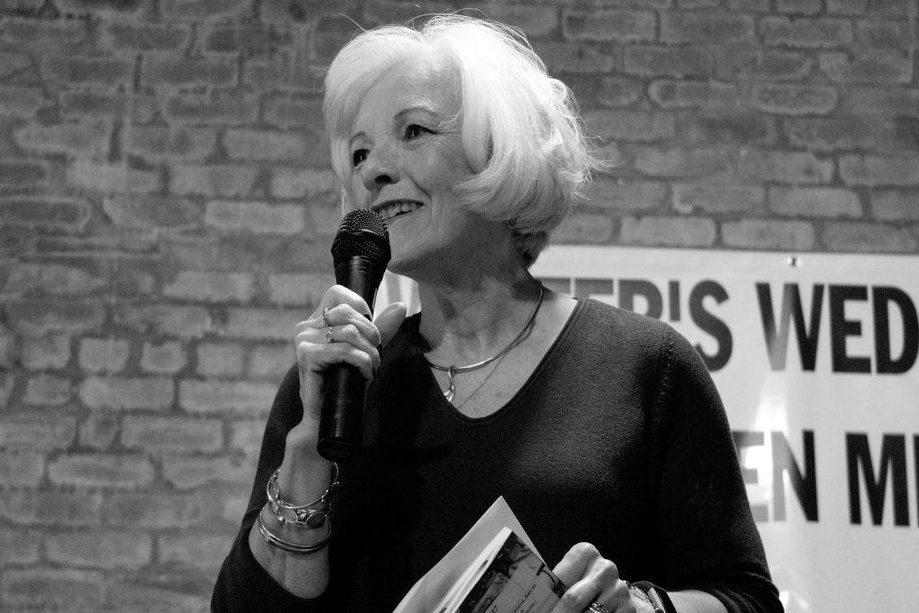 Jo Ann Steger Hoffman reads as Featured Poet for Nexus Poets in New Bern, NC