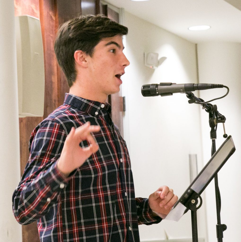 Student poet