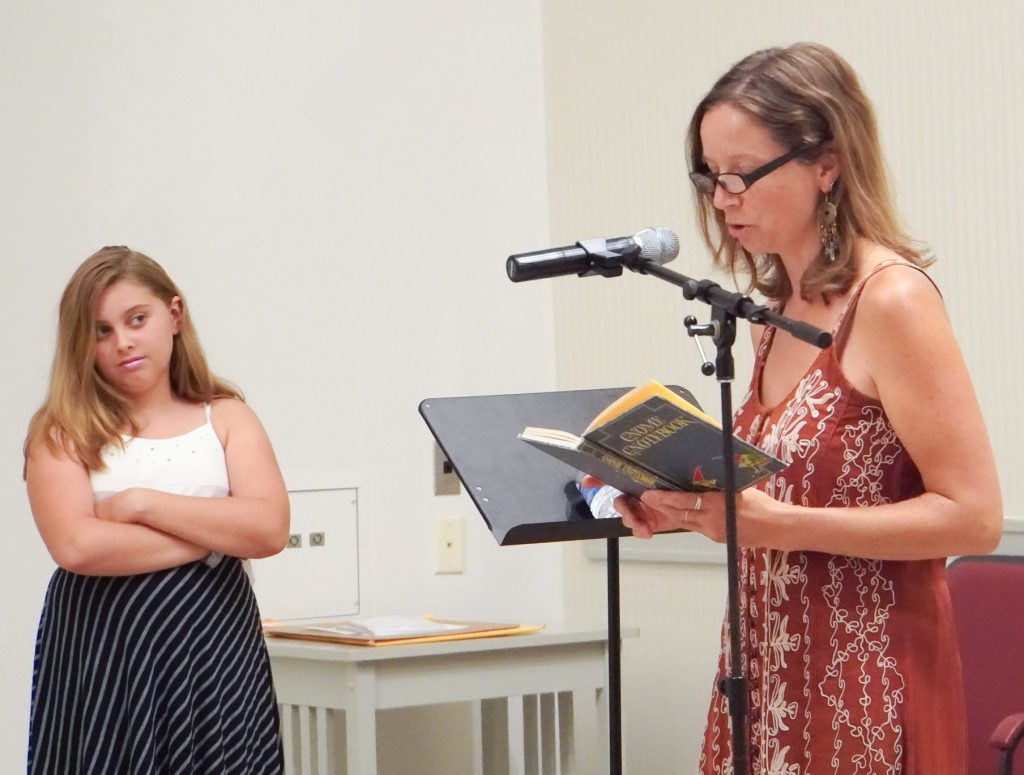 Christina and daughter